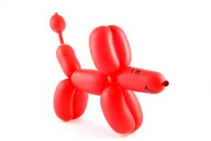 Набор шаров для моделирования с насосом (шарики-колбаски упаковка из 20 шт.)