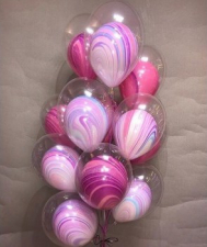 Фонтан из 12 шаров в шаре