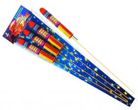 Огненный залп (набор из 3 ракет)