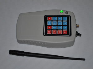 """Ручной пульт управления исполнительными модулями-терминалами 16 каналов 0,1 Вт/433 МГц (тип """"НС"""")"""