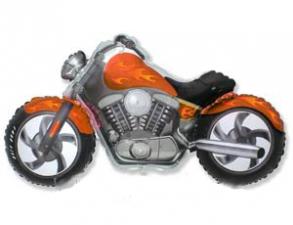 """Шар фольгированный 57х115 см """"Мотоцикл"""""""