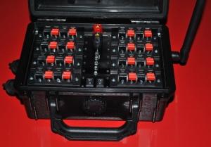 """Исполнительный модуль 16 каналов - терминал """"Кейс"""" с приемопередатчиком 1 Вт типа """"EBYTE"""""""