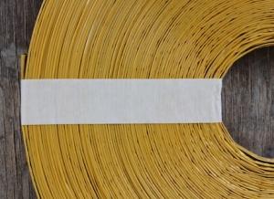 Огнепроводный шнур - стопин влагозащищенный в бумажной оплётке (бухта 10 м)