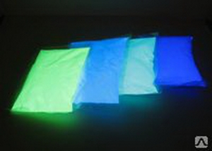 """Флоуресцентный пигмент """"УФ-ЖЕЛТЫЙ"""" для окраски бетонных поверхностей (упаковка 100 грамм)"""