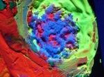 """Флоуресцентный пигмент """"УФ-ЗЕЛЕНЫЙ"""" для окраски Х/Б тканей (упаковка 100 грамм)_4"""