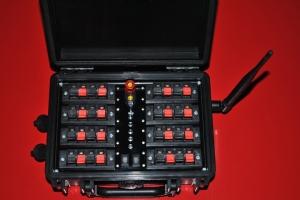 """Исполнительный модуль 16 каналов - терминал """"Кейс"""" с приемопередатчиком 0,1 Вт типа """"НС"""""""
