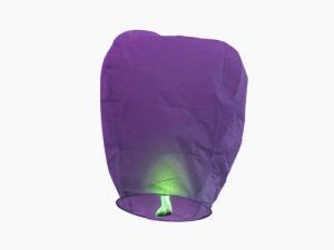 """Небесный фонарик 100 см """"Бриллиант фиолетовый"""""""