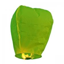 """Небесный фонарик 100 см """"Бриллиант зеленый"""""""