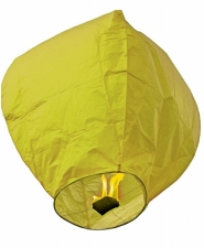 """Небесный фонарик 100 см """"Бриллиант желтый"""""""