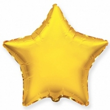 "Шар 4"" ""Звезда золотая"""