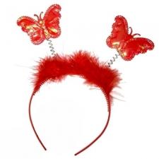 Ободок «Бабочки» на пружинке