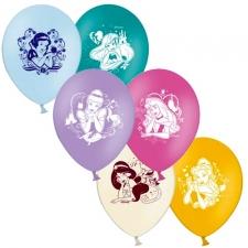 """Набор шаров 12"""" """"Disey Принцесса"""" (упаковка из 5 шаров)"""