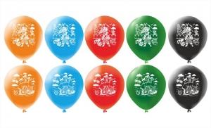 """Набор шаров 12"""" """"Пиратский корабль"""" (упаковка из 5 шаров)"""