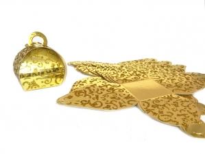 Коробка-сундучок «Золото с узором»