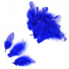 Перья синие для наполнения шаров (упаковка из 100 шт.)
