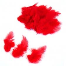 Перья красные для наполнения шаров (упаковка из 100 шт.)