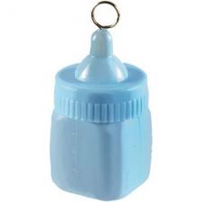 Груз для шаров «Бутылочка голубая»